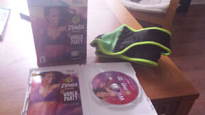 ZUMBA FITNESS WORLD PARTY WII GAME