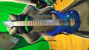 Ibanez RGIT27FE 7 String Neckthru and EMGs Ibanez (Ebony fb)