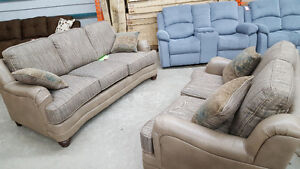 2 piece couch and love seat set - Delivery Available