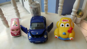 VW Beetle Car and VW Van Lot