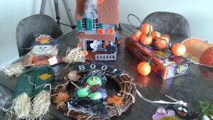 Lot décorations d'Halloween