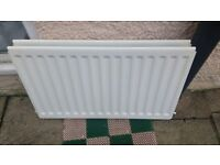 White Double panels central heating Radiator
