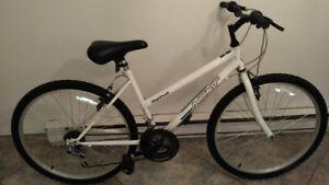 Bicyclette et soude-sac à vendre