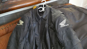 Joe rocket Honda riding jacket leather
