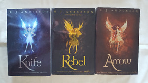 Faery Rebel Trilogy - R.J. Anderson AUTOGRAPHED