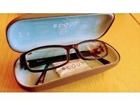 Designer Frames Glasses Specs - Scout Reeve Mens Male Glasses - Matt Black