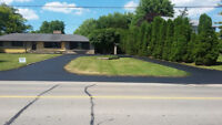 Asphalt Driveway Sealing & Line Painting (Commercial/Residential