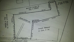 1 acre in Outercove on redcliff rd