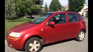 CHEVY AVEO - LOW KMS - MUST SELL THIS WEEK