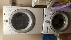 Amana Front Loading Washer and Dryer