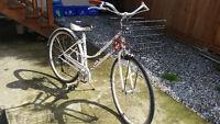 like new bike. 350 OBO. + accessories