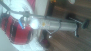 Oxygen Cylinder with Cart
