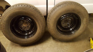 Ford hot rod wheels, 245/70r15 cooper tires