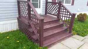 6×6.5 ft steps