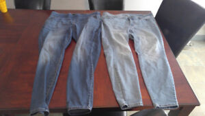 Guc plus size 20 old navy jeans.