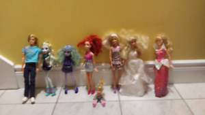 Barbie and Monster HighCollection