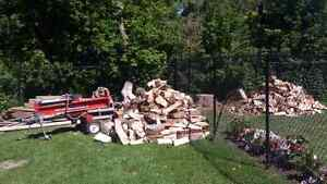 Need your wood split?? I will do it for you. Cambridge Kitchener Area image 2