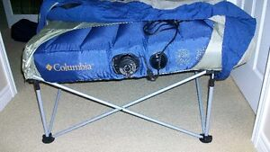 Columbia, Anywhere Twin Air Bed with stand, electric pump & case
