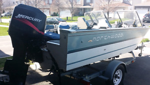 Boat motor trailer priced to sell