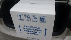7 Stages Reverse Osmosis Domestic Water Treatment System