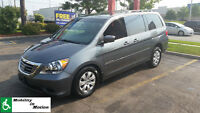 Wheelchair Accessible 2010 Honda Odyssey SE Minivan, Rear Entry