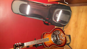 Fender Dobro and Case