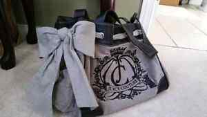 Grey and Black JUICY COUTURE purse  Cambridge Kitchener Area image 2