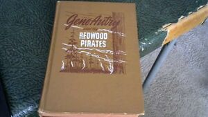 vintage 1946 GENE AUTRY AND THE REDWOOD PIRATES