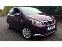 2015 Peugeot 108 1.0 Active 5dr Manual Petrol Hatchback