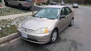 2001 Honda Civic Kitchener / Waterloo Kitchener Area image 3