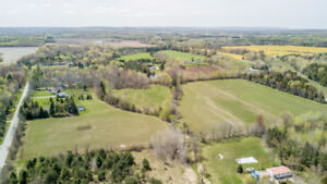 Just Listed! Amazing vacant lot with over 43 acres on Conc. 5!