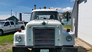 1974 International Single Axle Semi Truck