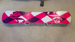 K2 women's snow board. Used once