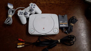 PS One Mini w/ matching controller and official Sony hookups