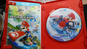 ¤¤¤Mario Kart 8 Nintendo wii U with manual¤¤¤