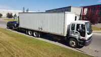 moving. hauling and hot shot delivering truck for hire