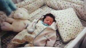 douillette pour bassinete de bébé avec protège contour du lit