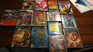 Game lot, PS2, PS3, Wii, PSP, Xbox, Vita
