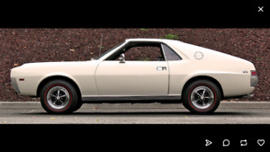 1968-1970 Amc AMX wanted or parts