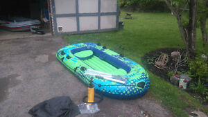 3 person inflatable boat