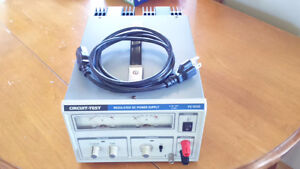 Power Supply DC, 120vac supply, output=0-30vdc,0-10A