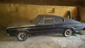 1966 Dodge Charger 383 4 Speed Fastback