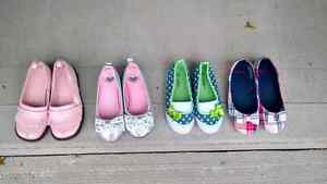 Girls shoes.  Size 10.