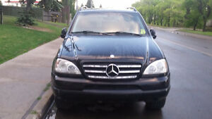 1999 Mercedes-Benz M-Class Leather Seats, Sunroof SUV, Crossover