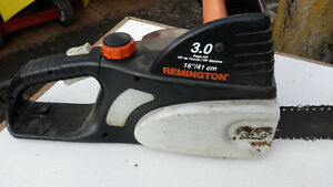 electric chain saw 16 inch remimgton
