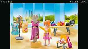 Playmobil 5652 set: Fashion designer Cambridge Kitchener Area image 1