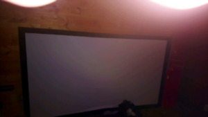 "92"" screen.  Hd Hdmi projector.. Just needs new lamp.. Only 200$"