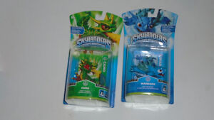 Original Skylanders New Sealed Warnado and Camo works on all