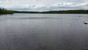 Dream 108 FT Water Frontage on Beautiful Black Rattle Lake.