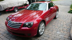 Chrysler Crossfire 2005 limited rouge